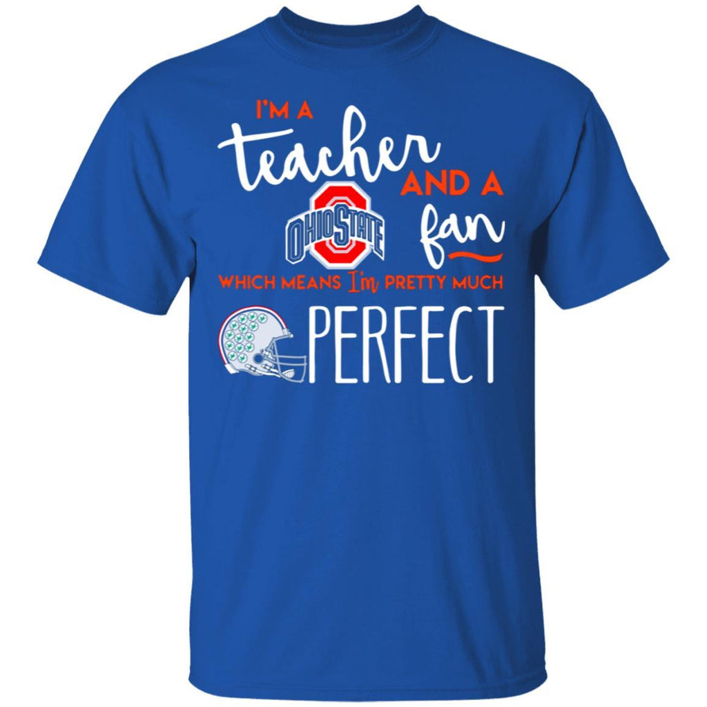 Fantastic I‰۪m a teacher and an Ohio State fan which means I‰۪m pretty much perfect shirt