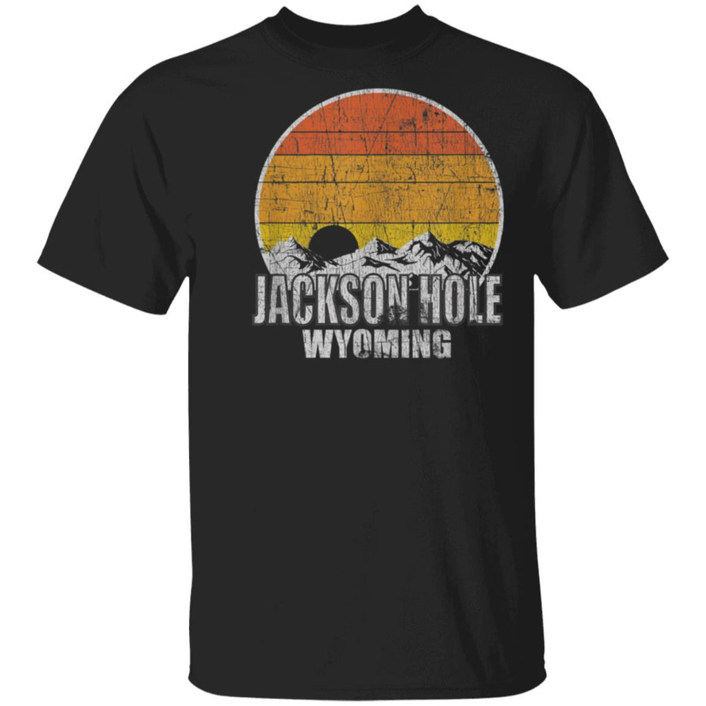 Retro Jackson Hole Wyoming T-Shirt