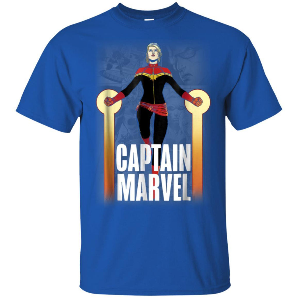 Marvel Captain Marvel She's Going To The Top Graphic T-Shirt