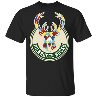 NFL - Milwaukee Bucks Support Autism Awareness T-shirt