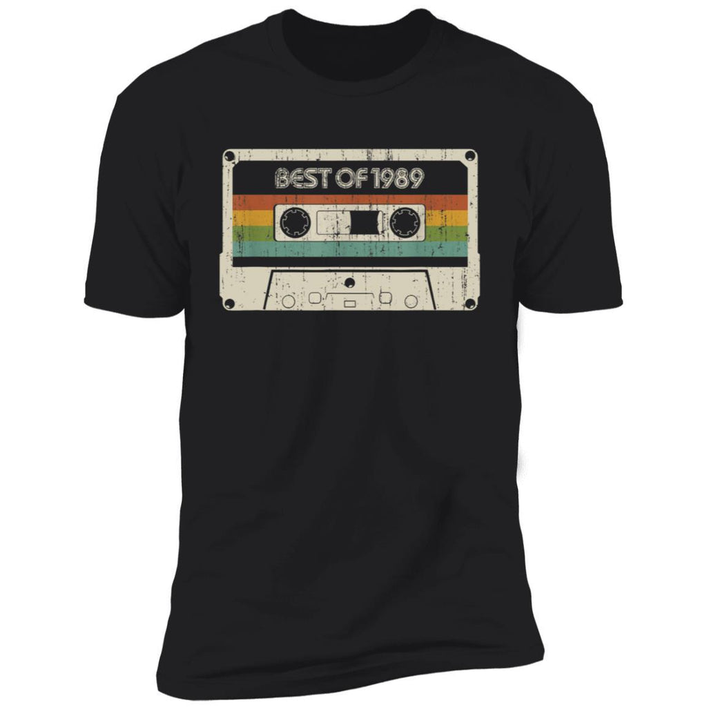 Vintage Best of 1989 30th Birthday Cassette T-Shirt