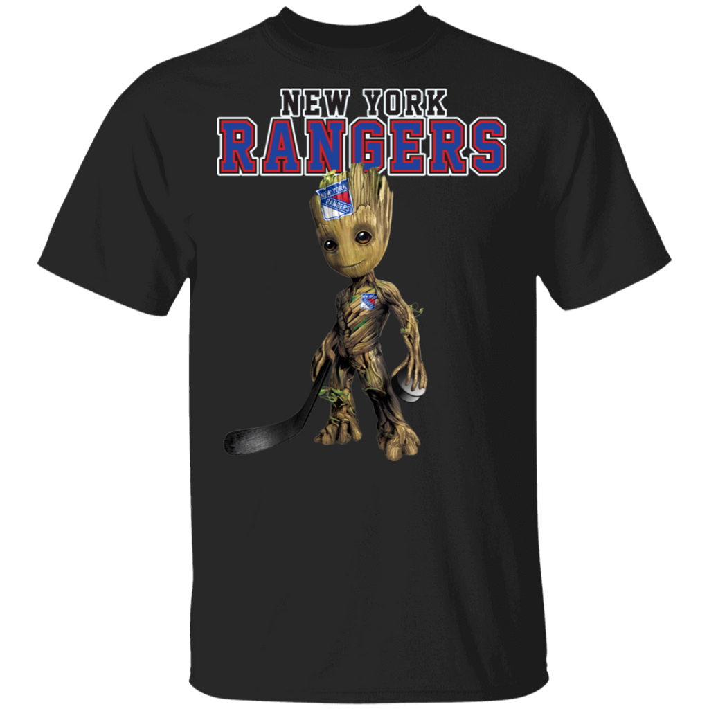 NHL - New York Rangers Hockey Guardians of the Galaxy Groot T-Shirt