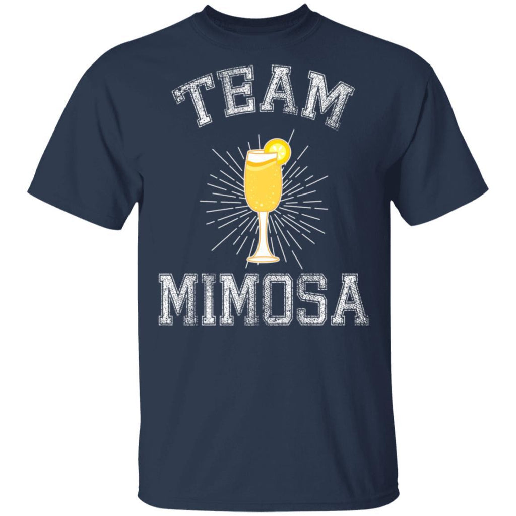 Team Mimosa Funny Brunch T-Shirt