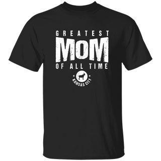 KC Kansas City Greatest Mom of All Time Kc Mother Goat Icon TShirt