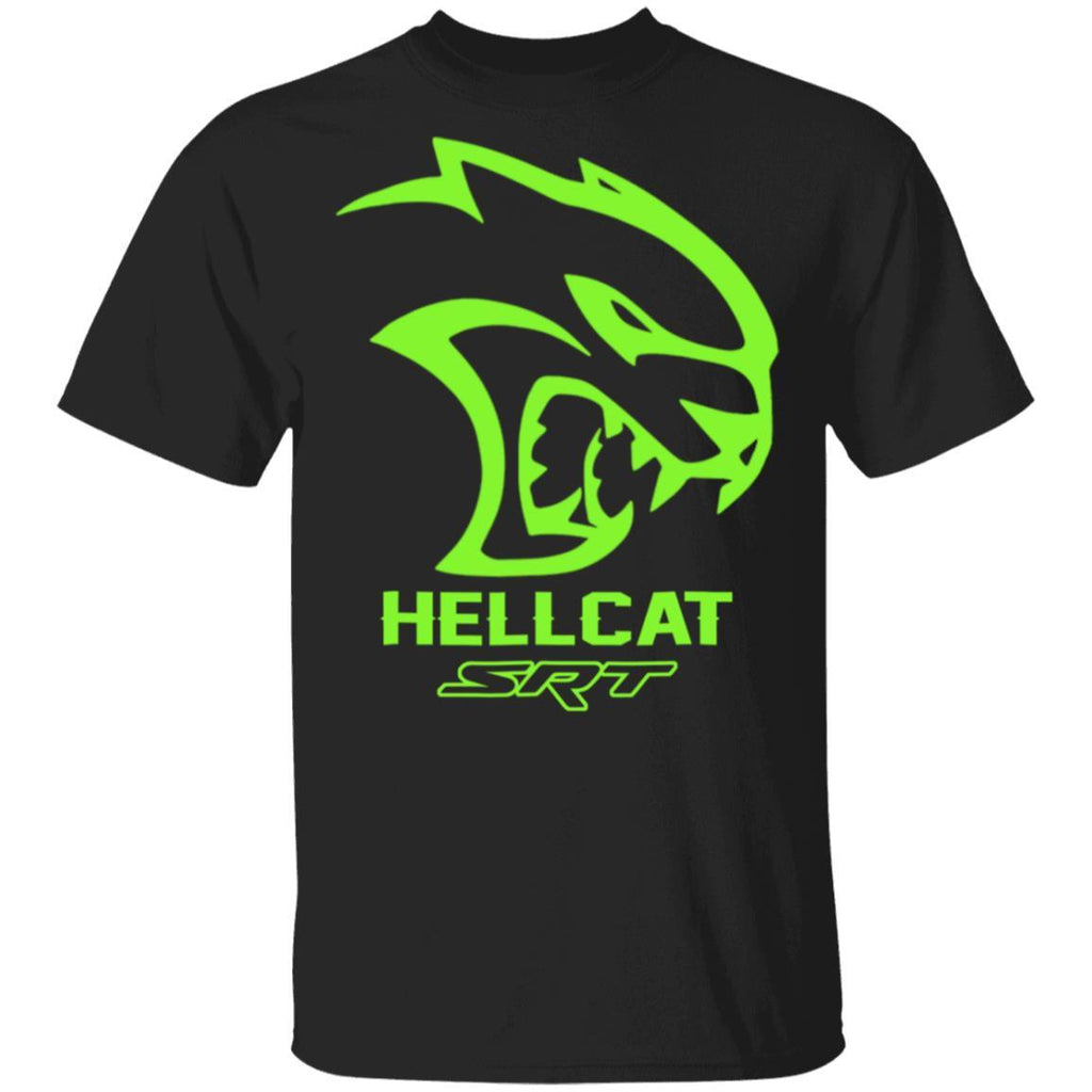 SRT Hell Cat Dodge Green, Awesome HELL CAT T-Shirt