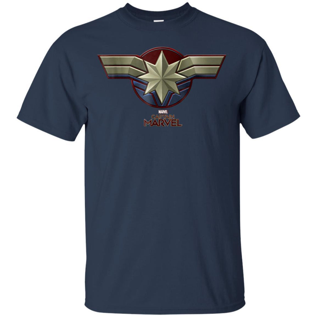 Marvel Captain Marvel Movie Chest Symbol T-Shirt