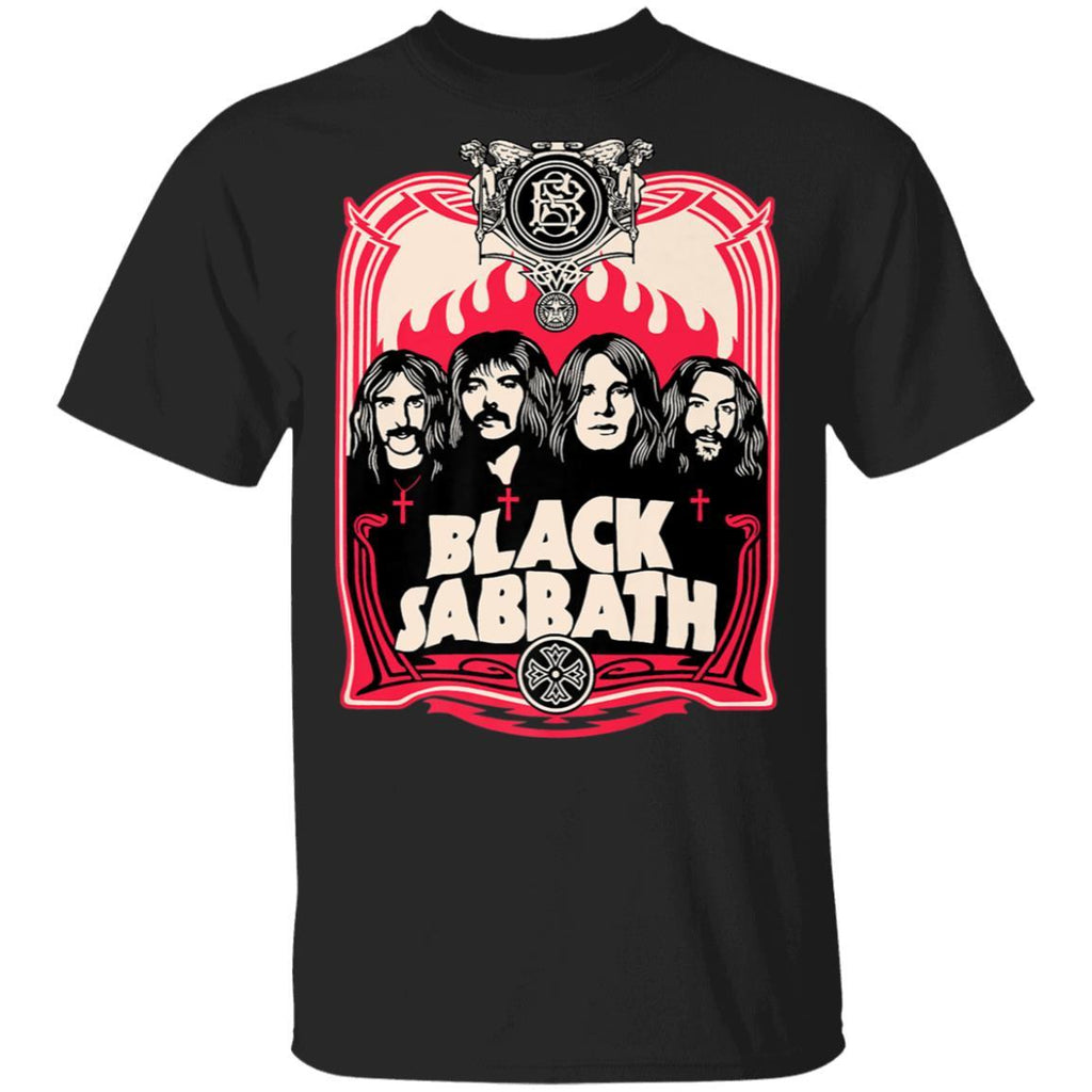 Black Sabbath Group Crest T-Shirt