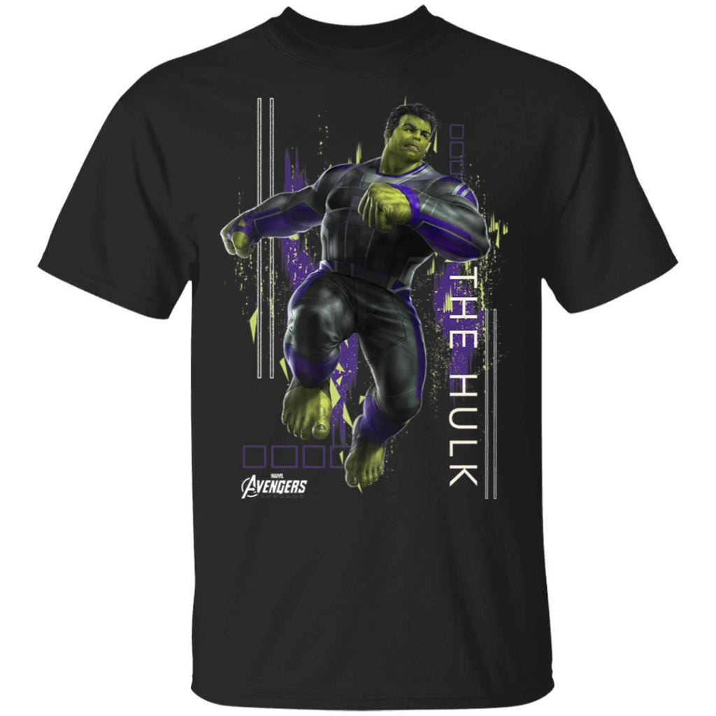Marvel Avengers Endgame Hulk Action Pose Premium T-Shirt