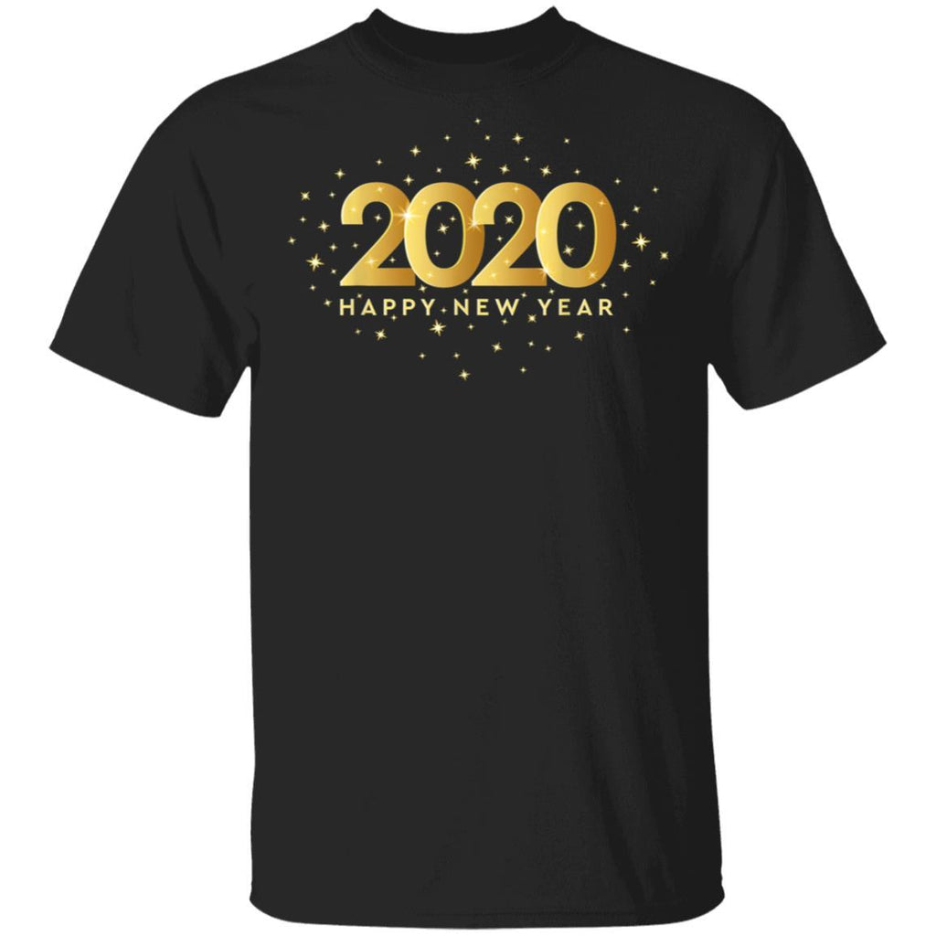 Happy New Year 2020 Welcoming New Years Eve Family Gift T-Shirt