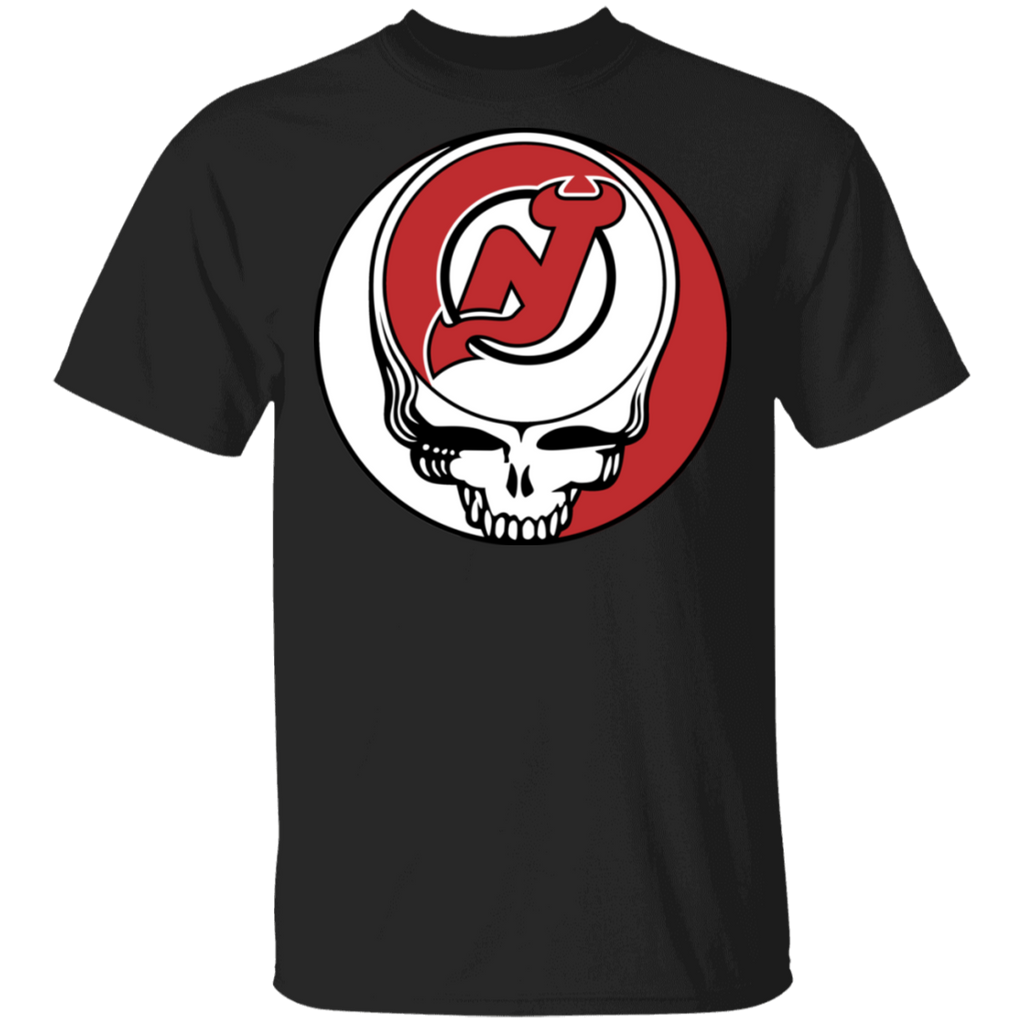 NHL - New Jersey Devils Hockey Grateful Dead Steal Your Face T-Shirt