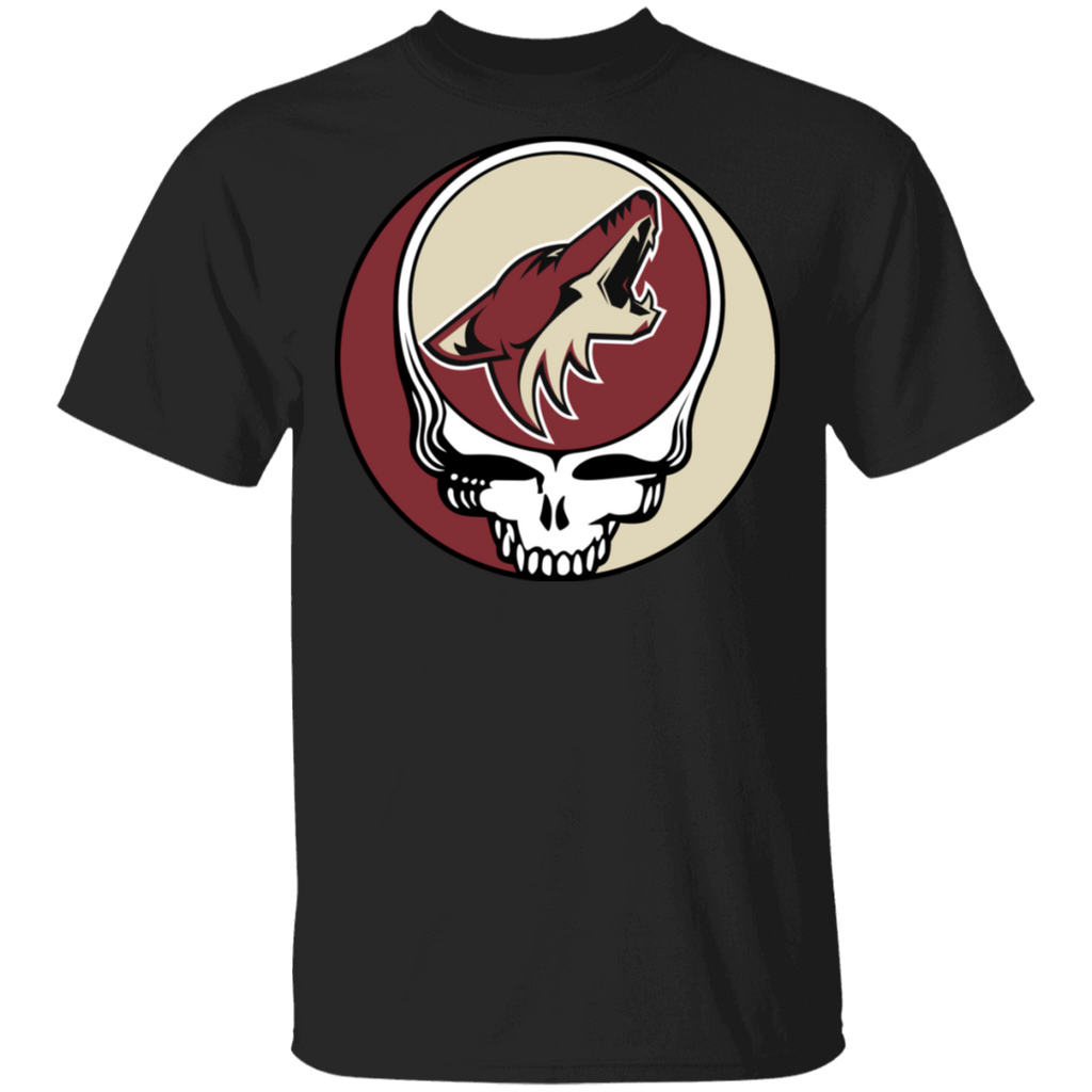 NHL - Arizona Coyotes Hockey Grateful Dead Steal Your Face T-Shirt