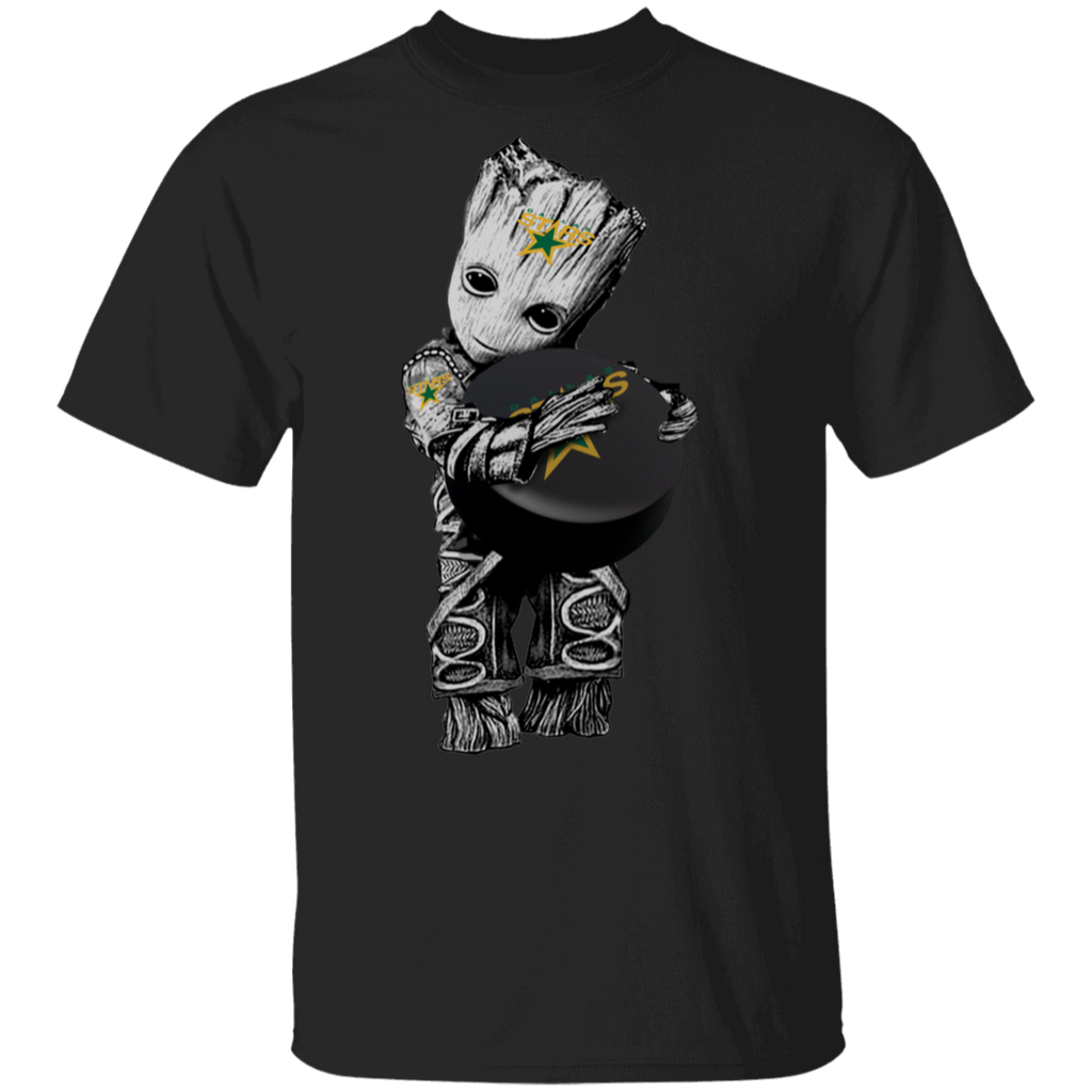 NHL - Dallas Stars Guardians of the Galaxy Groot Hockey T-Shirt
