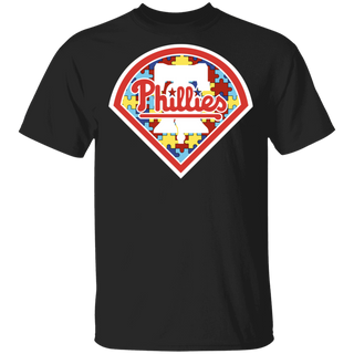 NFL - Philadelphia Phillies Support Autism Awareness T-shirt