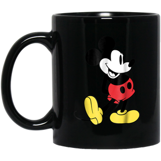 Disney Mickey Mouse Classic Black Mug