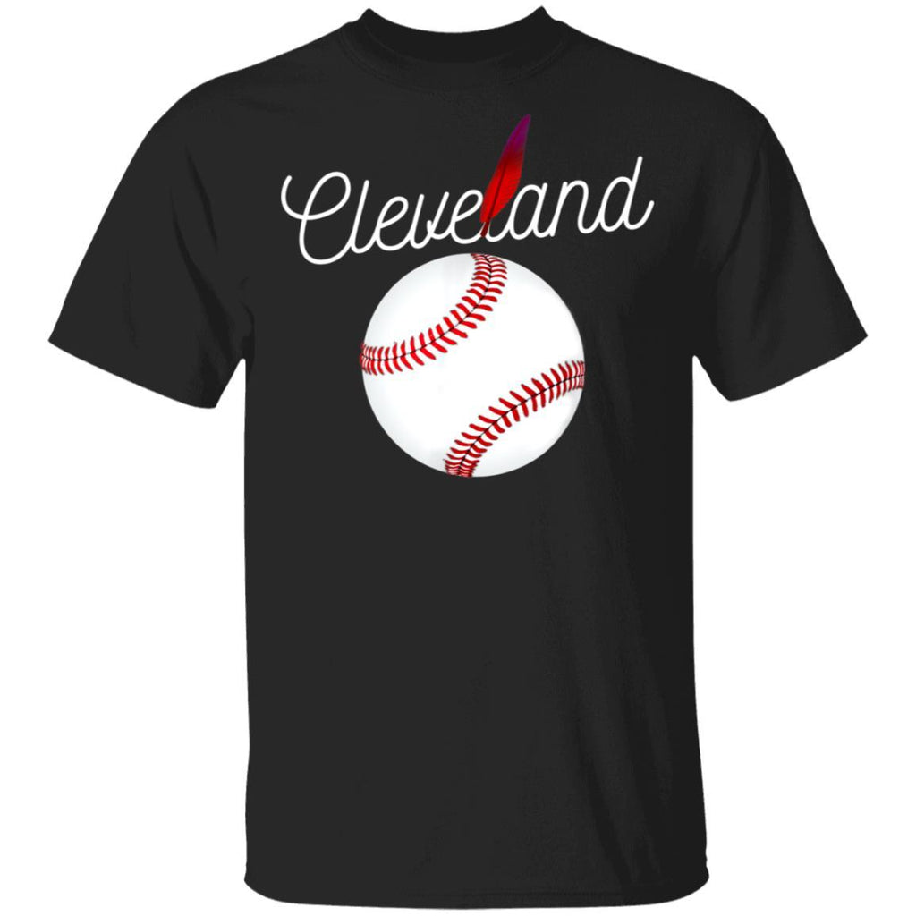 Cleveland Hometown Indian Tribe t-shirt for Baseball Fans T-Shirt