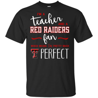 Texas Tech Red Raiders Perfect Teacher T-Shirt - Apparel