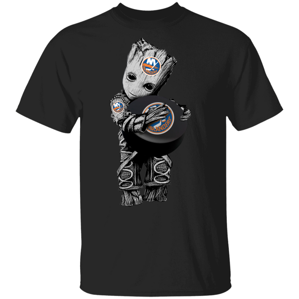 NHL - New York Islanders Guardians of the Galaxy Groot Hockey T-Shirt