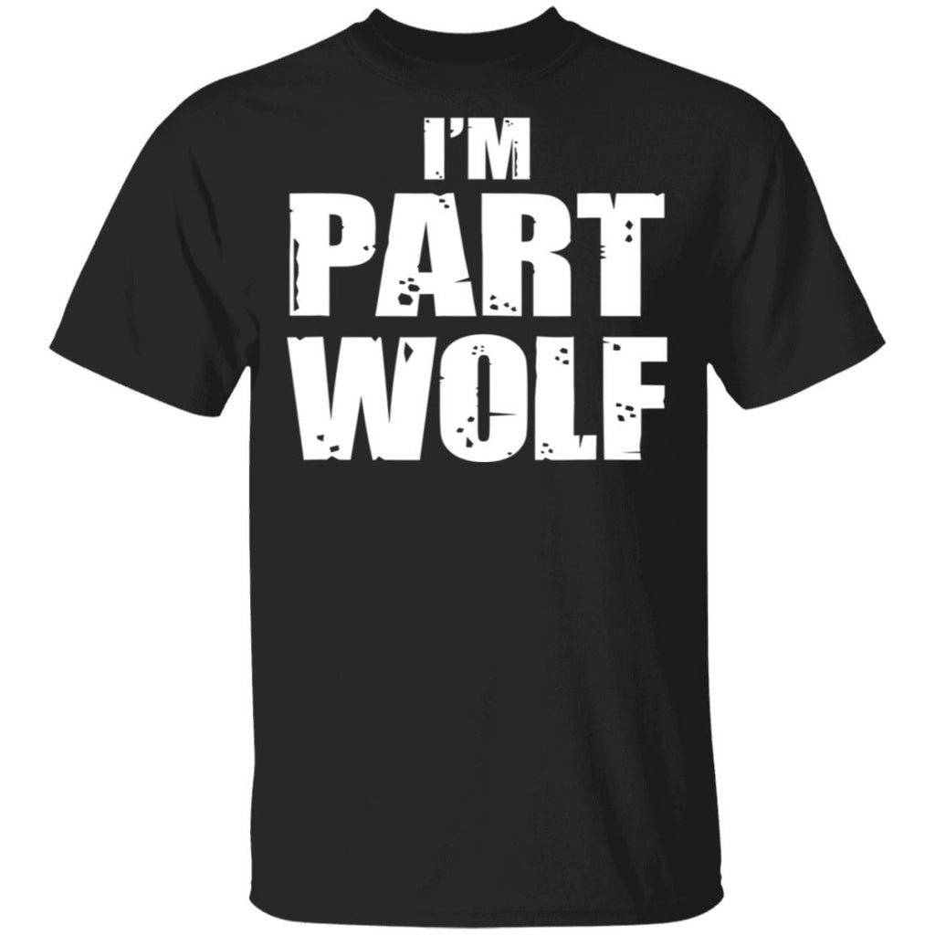 Part Wolf Human Hungry Wild Animal T-Shirt