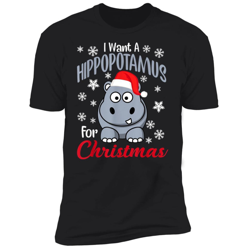 I Want A Hippopotamus For Christmas shirts