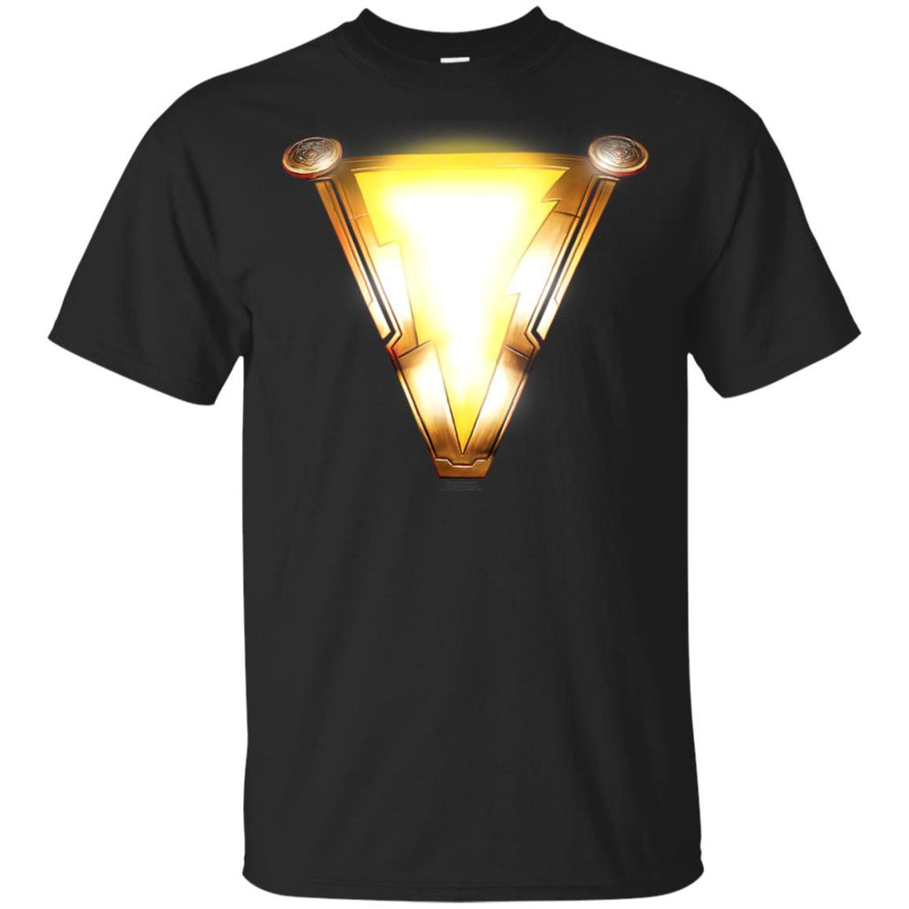 Shazam! Movie Chest Bolt T Shirt