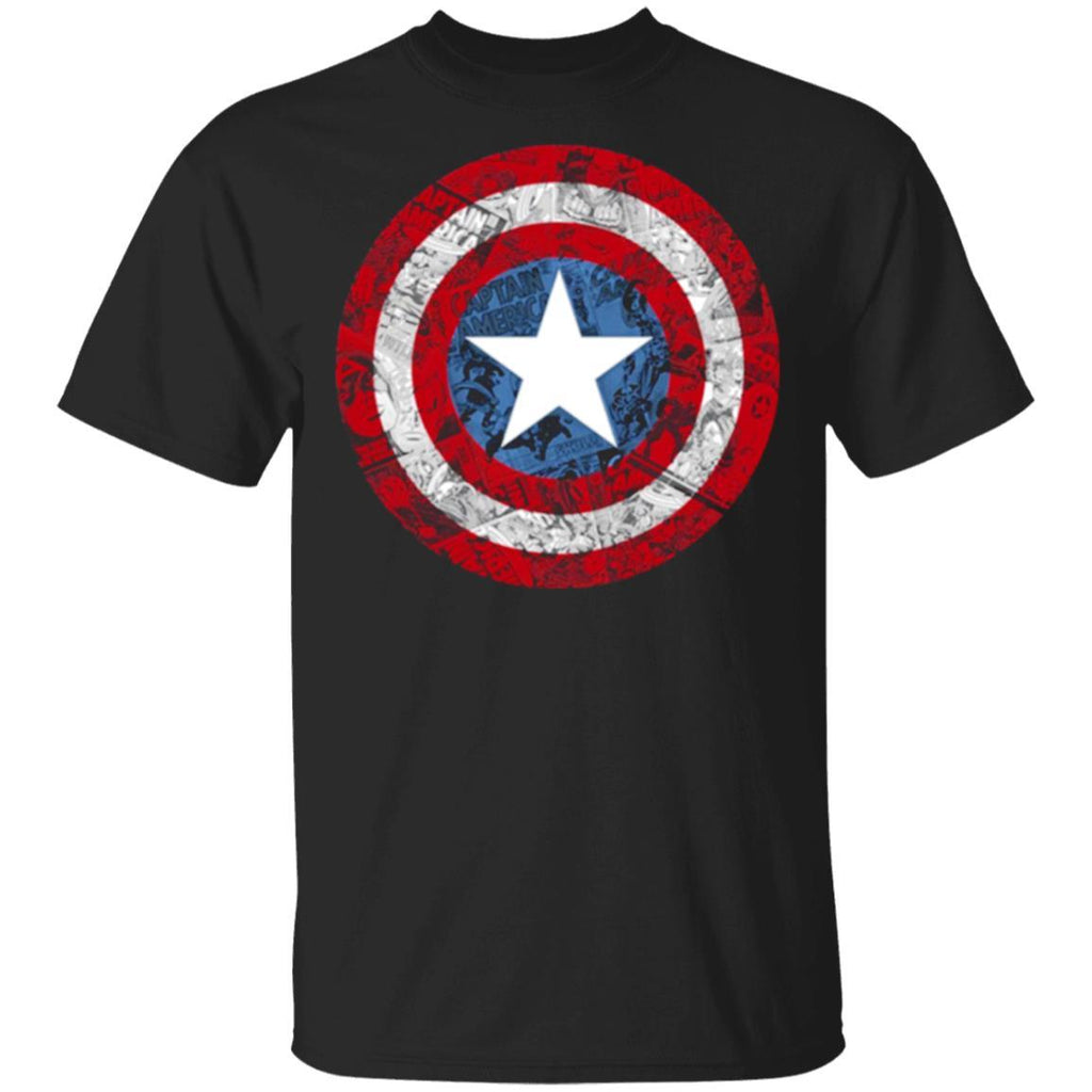 Captain America Avengers Shield Comic Graphic t shirts
