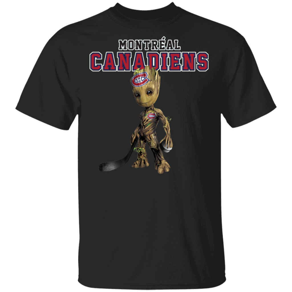 NHL - Montrí©al Canadiens Hockey Guardians of the Galaxy Groot T-Shirt