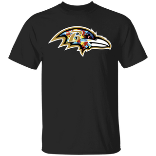 NFL - Baltimore Ravens Support Autism Awareness T-shirt