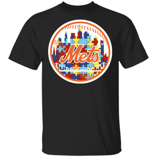 NFL - New York Mets Support Autism Awareness T-shirt
