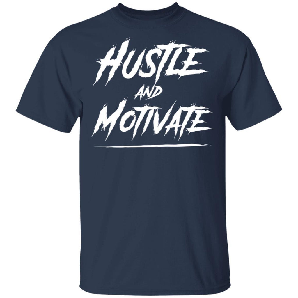 Hustle and Motivate Gift for Men and Women T-Shirt