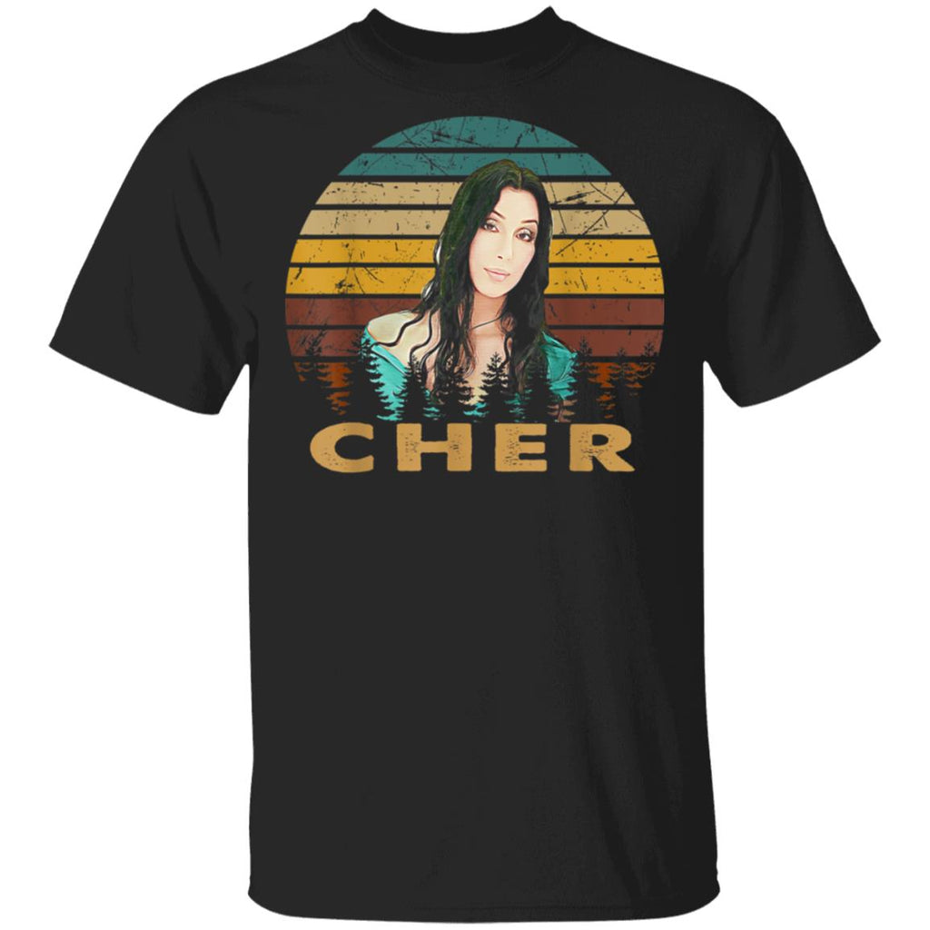 Retro Vintage Cher's Classic Distressed Funny Country Music T-Shirt  TFM