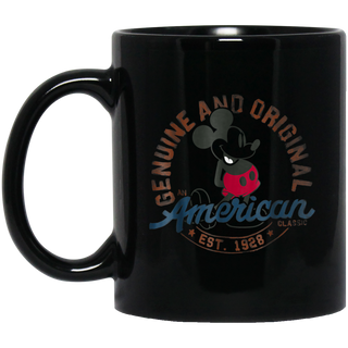Disney Mickeys 90th Classic 1928 Black Mug