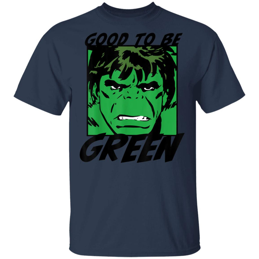 Marvel Avengers St. Patrick's Day Hulk Good To Be Green T-Shirt  tfm