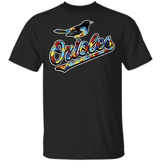 NFL - Baltimore Orioles Support Autism Awareness T-shirt