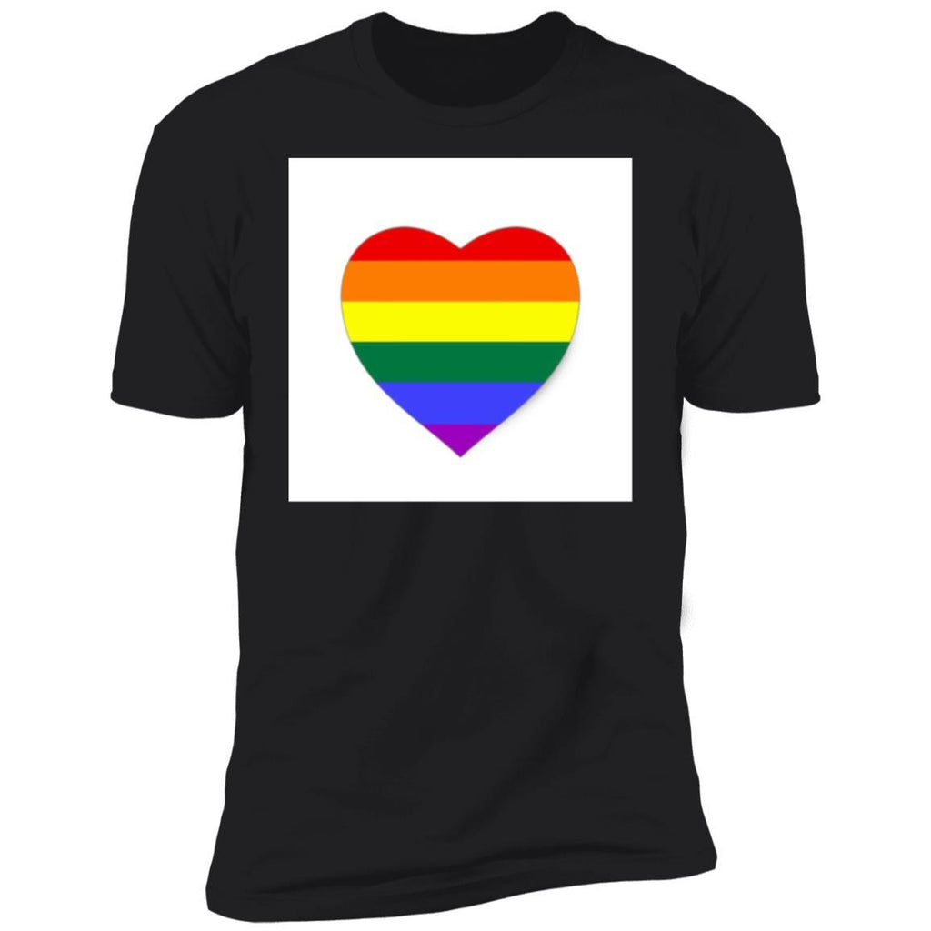 Lgbt pride stickers heart T-Shirt