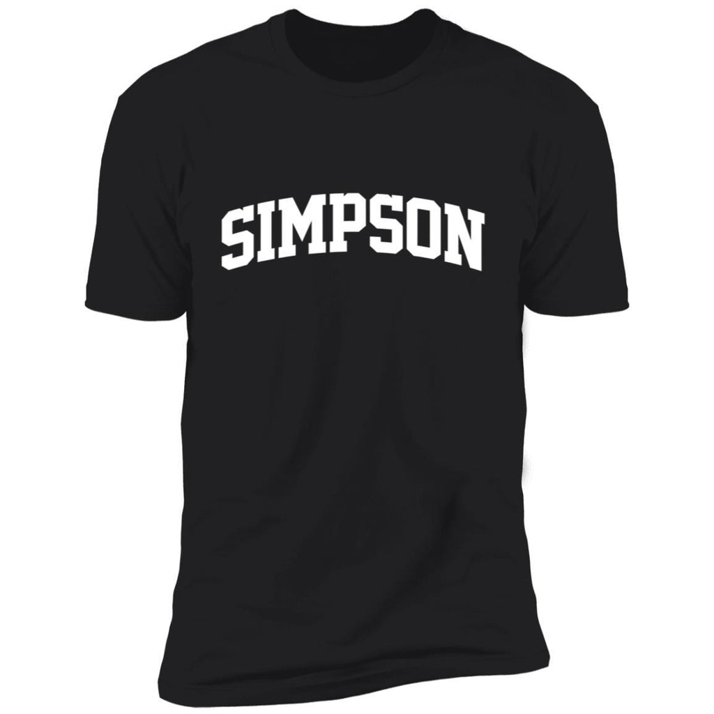 Simpson Family First Last Name Arch T-Shirt