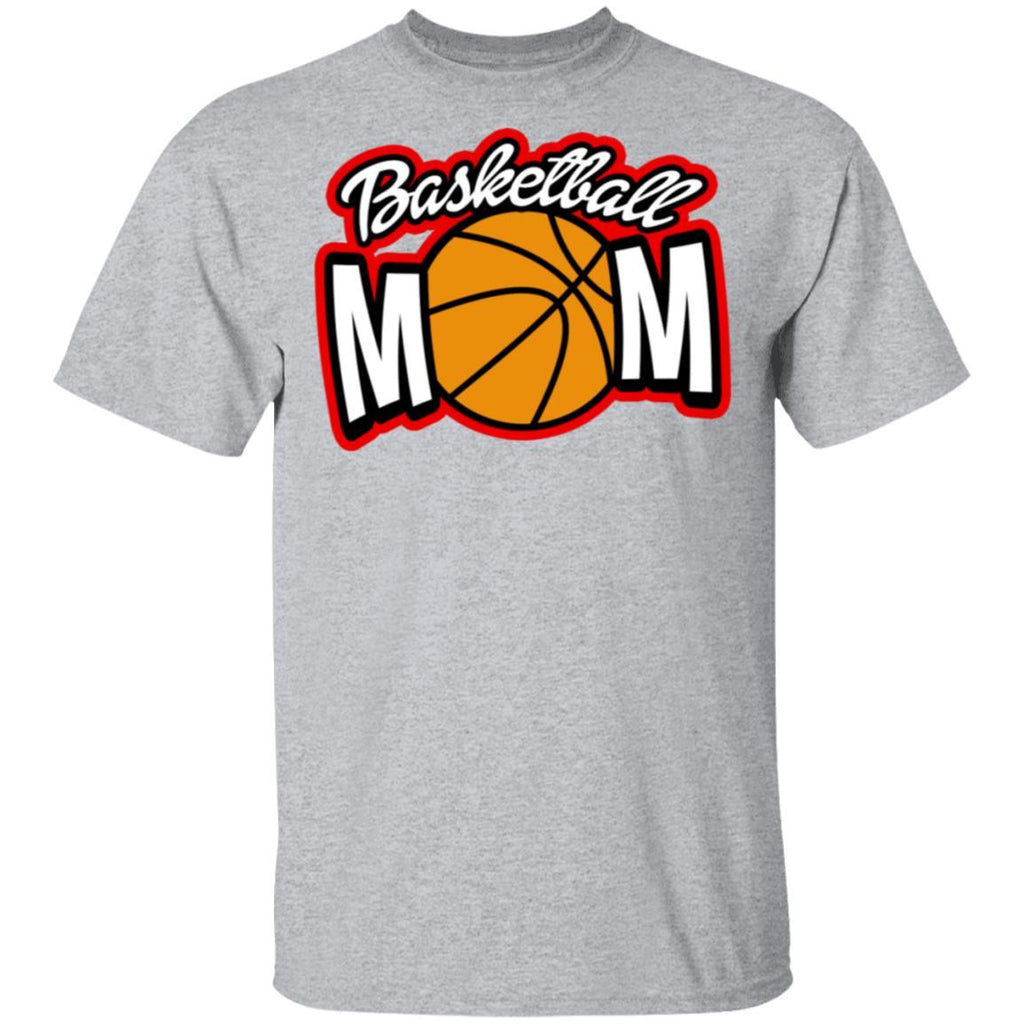 Proud Basketball Mom Pink women's shirt
