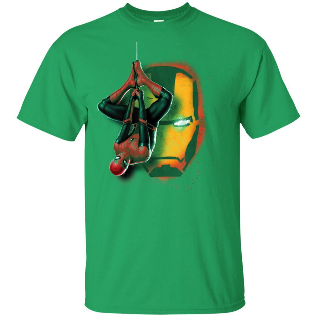 Marvel Spider-Man Far From Home Iron Man Graffiti T-Shirt