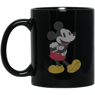 Disney Classic Mickey Mouse Black Mug