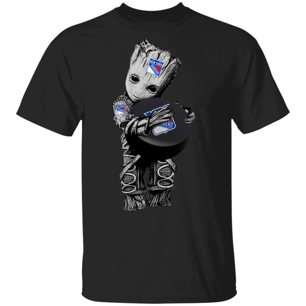 NHL - New York Rangers Guardians of the Galaxy Groot Hockey T-Shirt