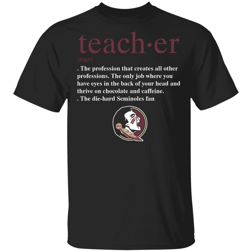 NCAA - Teacher Florida State Seminoles Fan Funny T-Shirt
