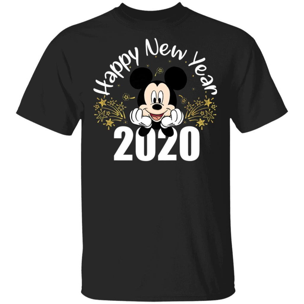 Disney New Year's 2020 Mickey Mouse Happy New Year T-Shirt
