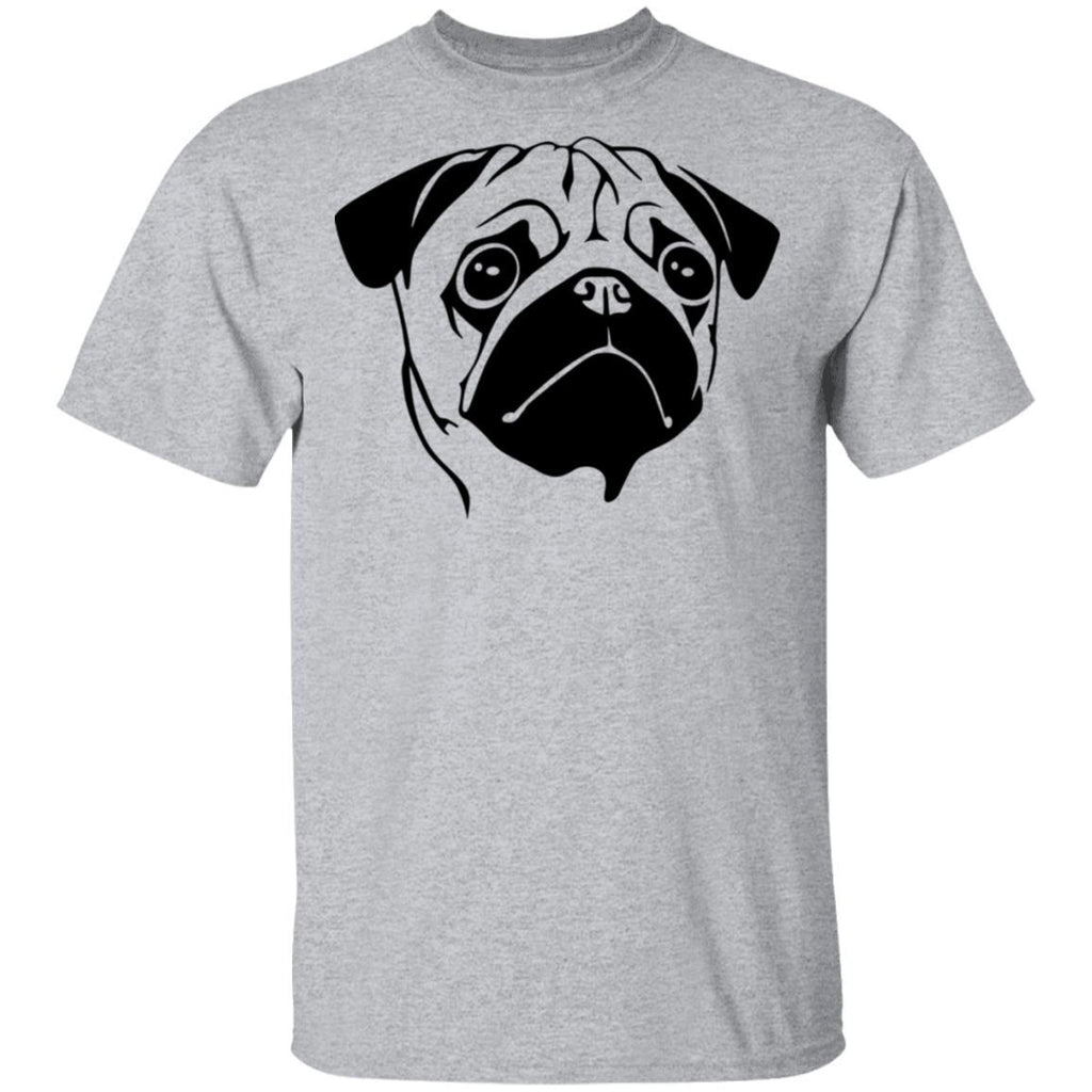 Pug Face design funny shirt