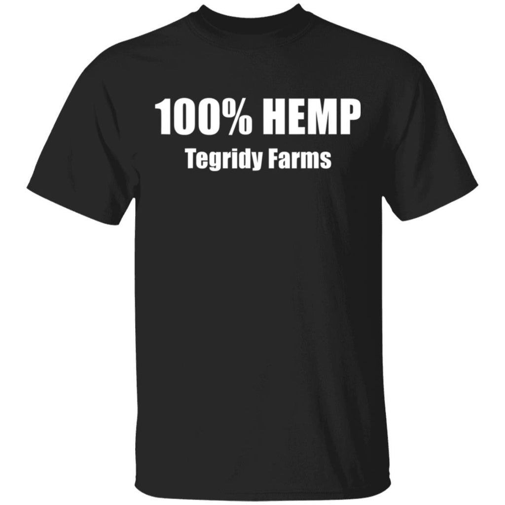 100% Hemp Tegridy Farms - Funny Weed T-Shirt