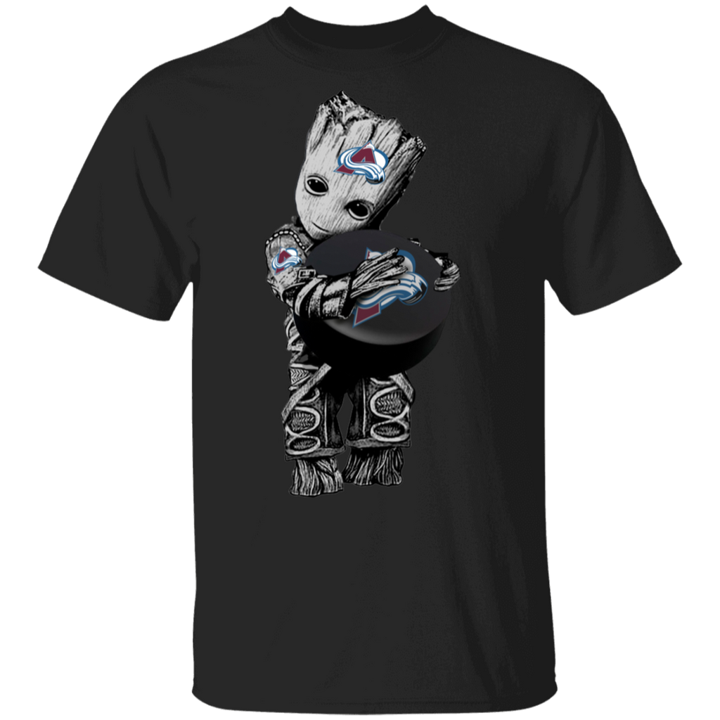 NHL - Colorado Avalanche Guardians of the Galaxy Groot Hockey T-Shirt