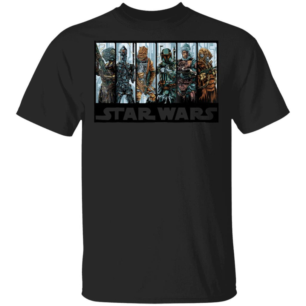 Star Wars Bounty Hunters' Guild Graphic T-Shirt