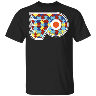 NFL - Philadelphia Flyers Support Autism Awareness T-shirt