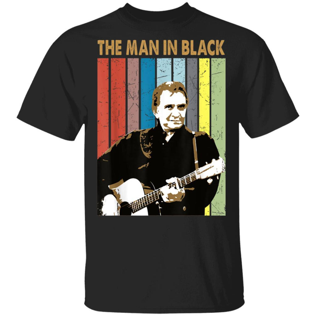 The Man In Black Vintage Johnny Cash For Men Women T-Shirt