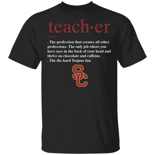 NCAA - Teacher USC Trojans Fan Funny T-Shirt