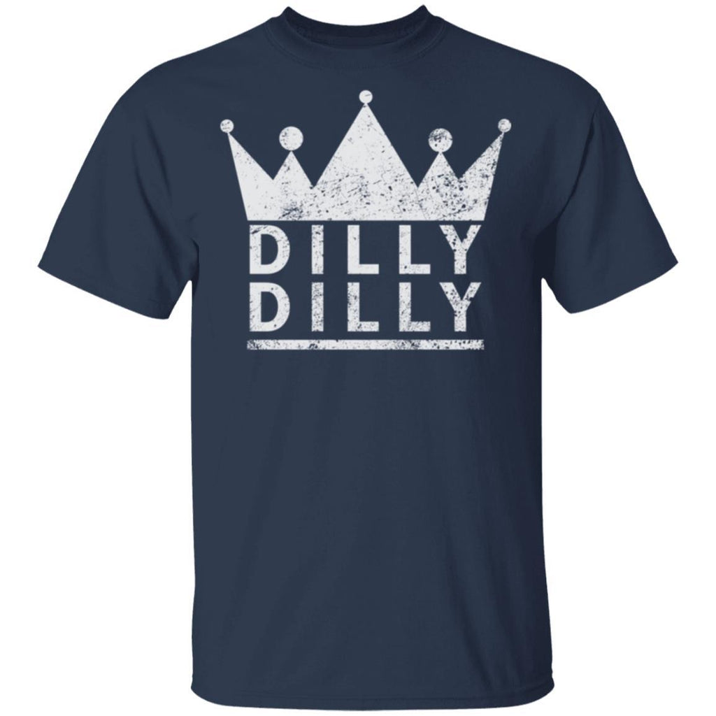 Dilly Dilly Beer Medieval Distressed T Shirt