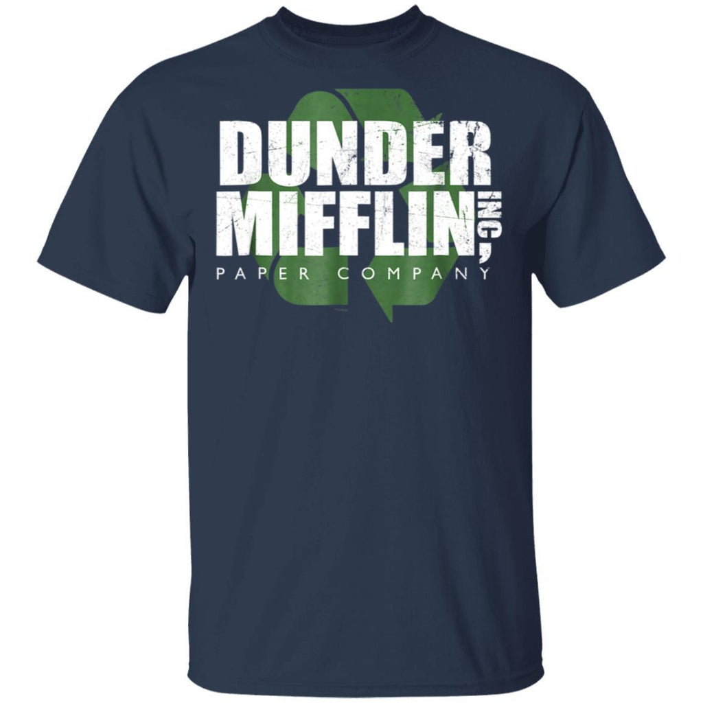 The Office Dunder Mifflin Recycle Comfortable T-Shirt